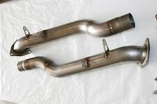 "FREE SHIPPING Porsche Cayenne 955 Secondary Bypass Pipes 2.5"" tubes (S-V8 04-06)"