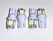 4x W5W T10 Standlicht weiß Innenraumbeleuchtung KALTWEISS Kennzeichenleuchte
