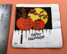 Vintage Halloween Cocktail Napkin - Party Maid - American Greetings 1977 *122017