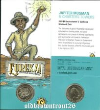 2020 $1 Eureka Gold Rush Raffaello Carboni at Eureka /'C/' Canberra Mintmark Coin