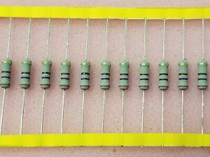 100 resistencia 30ohm mf0207 metal película resistors 30r 0,6w tk50 1/% 032684