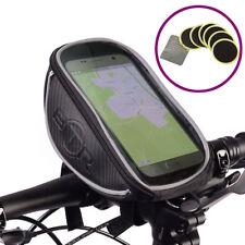 BTR Fahrradtasche Lenkertasche und Handy Fahrradhalterung Fahrradrahmentaschen