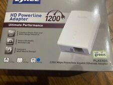 ZyXEL Powerline AV1200/1300 Ethernet Adapter Model PLA5405