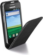 Cellular Line Flap Essential Case for Samsung Galaxy Ace - Black