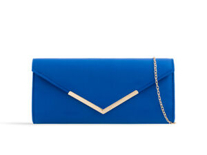 Suede New Evening Clutch Bags Prom Party Wedding L2435