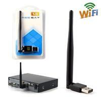 FREESAT USB WiFi  Antenna Work For Freesat V7 V8 Series Satellite Receiver UP