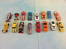 16 Assorted Hot Wheels, Matchbox and NASCAR Cars.