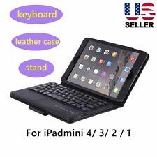iPad mini 4/ 3/ 2 / 1 Removable  Mini Wireless Keyboard Protective Cover Case ts