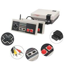 Funny Mini Vintage TV Game Console Classic 500 Built-in Games 2 Controllers Gift