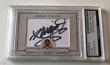 Manny Pacquiao Ageless Classics Patriots Signed Auto Custom CARD 1/1 PSA/DNA