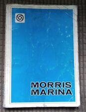 Morris Marina Repair Operation Factory Workshop Manual 1978 on + Van & Pick Up