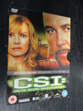 ***CSI: Crime Scene Investigation - Las Vegas - Season 7 Part 1*** FREE P&P