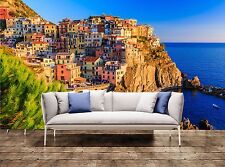 Large Wall Print Cinque Terre, Italy Photo Art Wallpaper Mural Tapestry Decor