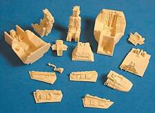 F-14A Tomcat Resin Cockpit Detail Set for Tamiya (1/32 Avionix 32013)