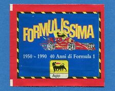 (N4) FORMULISSIMA -Agip 1990 FIGURINE-STICKERR- Bustina/Packet Piena SEALED