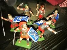 BRITAINS DEETAIL ROMAN SOLDIERS 1/32 SET OF SIX (6) FIGURES