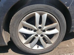 PEUGEOT 508 2013 ALLOY WHEEL AND TYRE 215 55 17 re3