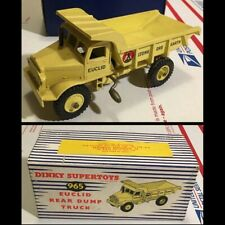 Original vintage c. 1950s Dinky Supertoys 965 Euclid Rear Dump Truck - IN BOX