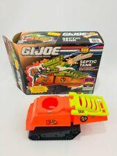 GI Joe Cobra Septic HISS Tank Vehicle 1991 Loose Vintage Box Eco Warriors Hasbro