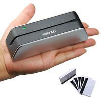 New USB Smallest Magnetic Stripe Credit Card Reader Writer Encoder MSR X6