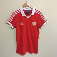Manchester United Adidas 2015 Football Soccer Jersey Shirt Mens Small
