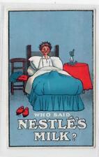 NESTLE'S MILK: Advertising postcard (C29729)