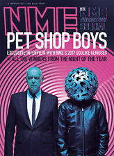 The NEW MUSICAL EXPRESS NME 17 FEBRUARY 2017 The PET SHOP BOYS Cover n.m.e.