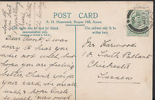 Genealogy Postcard - Family History - Harwood - Chichester - Sussex  A9186