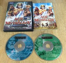 AGE OF MYTHOLOGY - PC GAME Fast Post - ORIGINAL & FULLY COMPLETE WITH MANUAL etc