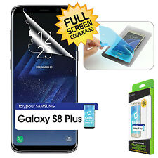 Full Coverage Screen Protector w/ Easy Applicator Kit for Samsung Galaxy S8 Plus