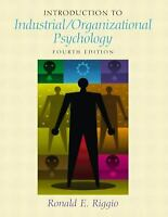 Introduction to Industrial/Organizational Psychology Hardcover Ronald E. Riggio