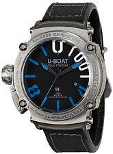 Watch Mens U-Boat U-1001 8038 Black Leather