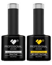 "VB�""� Line Top and Base coat - nail gel polish professional UV/LED - NO WIPE TOP!"