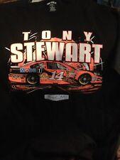TONY STEWART NASCAR SHIRT BLACK