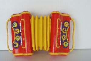 THE WIGGLES 2004 SPIN MASTER TOY ACCORDIAN - WORKING