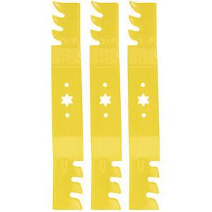 "Cub Cadet 490-110-C139 Xtreme Blade Set 50"" Deck i1050 RZT50 ZT1-50 Lawn Mowers"