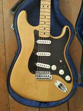Fender Stratocaster de 1972 naturelle originale
