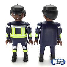 Playmobil Pompier Figurine : Coloré Pompier Pompier Afro