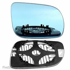 14.5cm Right side blue wing mirror glass for VW Polo 2000-02 heated