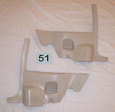 82-92 Camaro Firebird Light Sand Gray Rear Seat Lower Trim Panels  82-87 Style