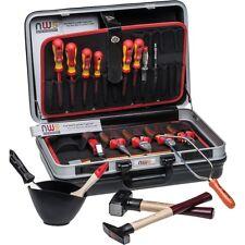 NWS electricista - caso de cáscara duro, 23-teiliger Caja herramientas, montaje