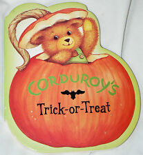Corduroy's Trick-or-Treat by Don Freeman (2002, Board Book)