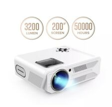 DBPOWER RD-819 Projector, 3200 Lumens LCD Video Projector, Multimedia Portable