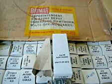 Electrically  Matched Pair 6BE6W CV4012 5750 Brimar New Old Stock Valve Tube
