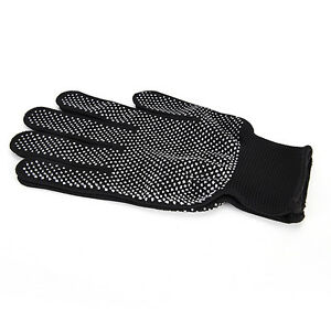 2pcs Heat Proof Resistant Protective Gloves for Hair Styling Tool Straightene_bc