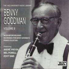 Benny Goodman: Yale Archives--vol 8 - CD LIKE NEW-FREE SHIP USA