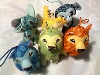 McDonalds Happy Meal Toys 'Animal Jam' Plush Soft Toy X 6 Various Animals Bundle