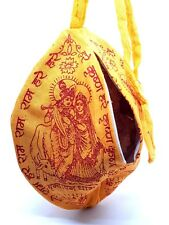 Krishna Prayer Puja Japa Mala Bag Hindu Chant Yoga Meditation Hare Rama Iskcon