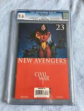 New Avengers #23 (Oct 2006, Marvel) CGC 9.6 CIVIL WAR Spider-Woman