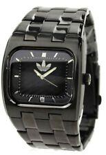Adidas watch men, black stainless steel, NIB a fashion / sport watch